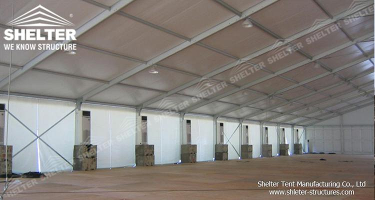 tent for warehouse