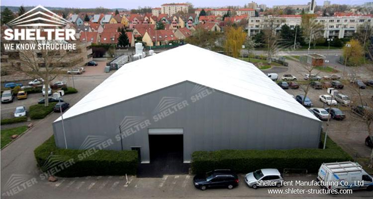 huge tent for warehouse