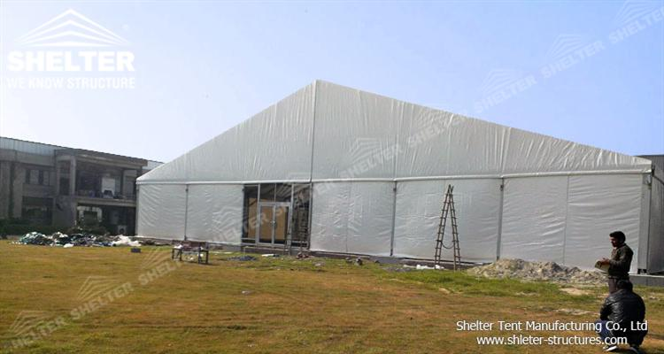 storage tent for warehouse