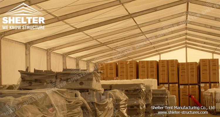 warehouse tent for storage