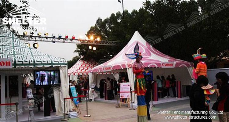 5x5 event tent