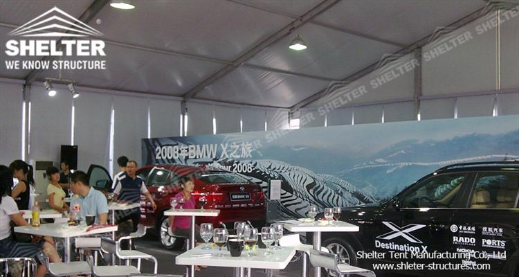 large exhibition tents