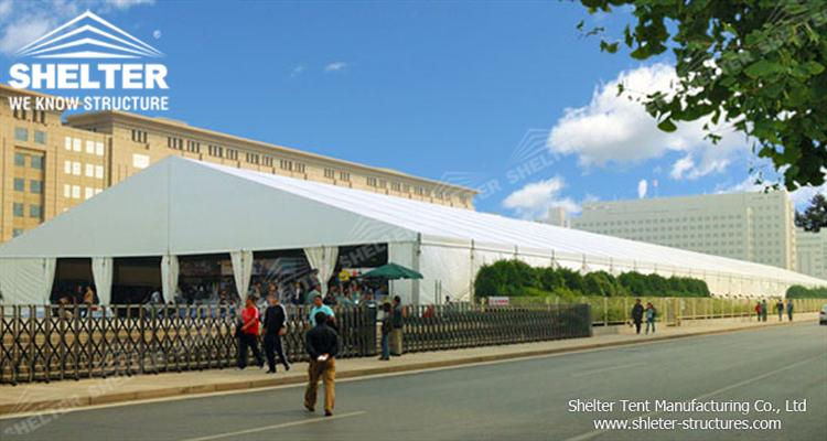 big exhibition tent