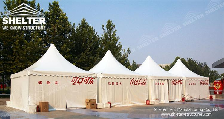 pagoda tents for events