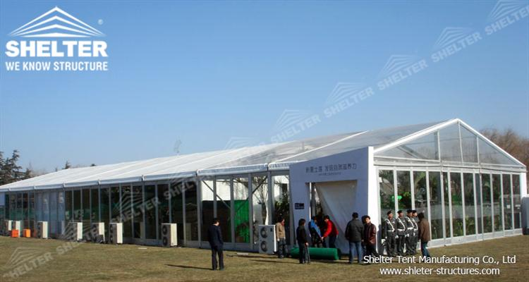 marquee exhibition tent