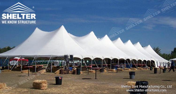 outdoor winter party tent