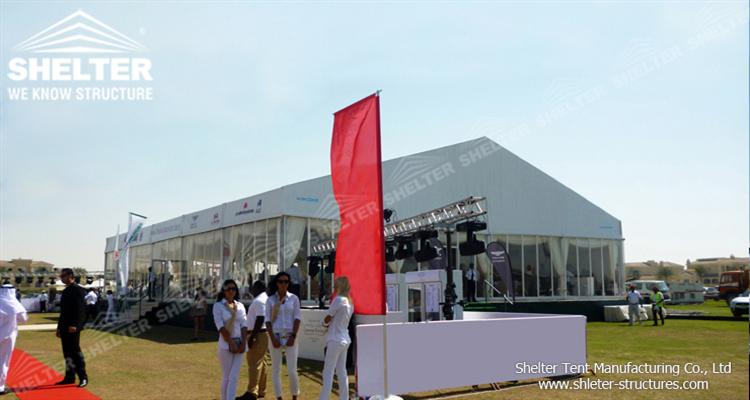 temporary exhibition tents