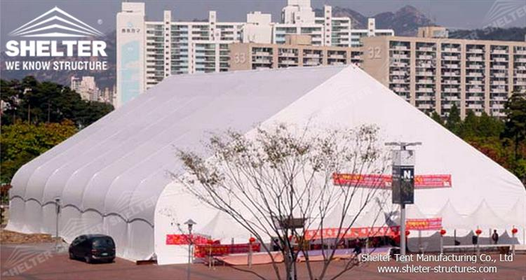 pvc outdoor exhibition tent