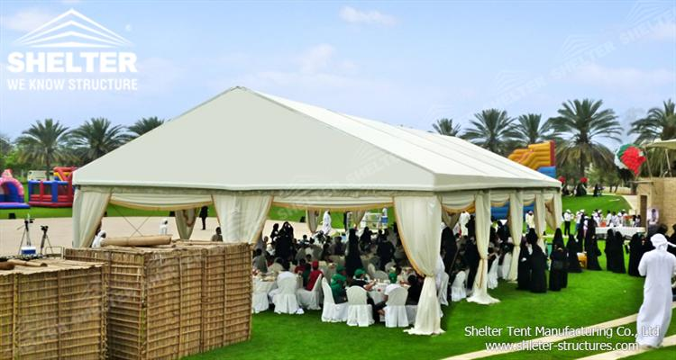 clear party tent